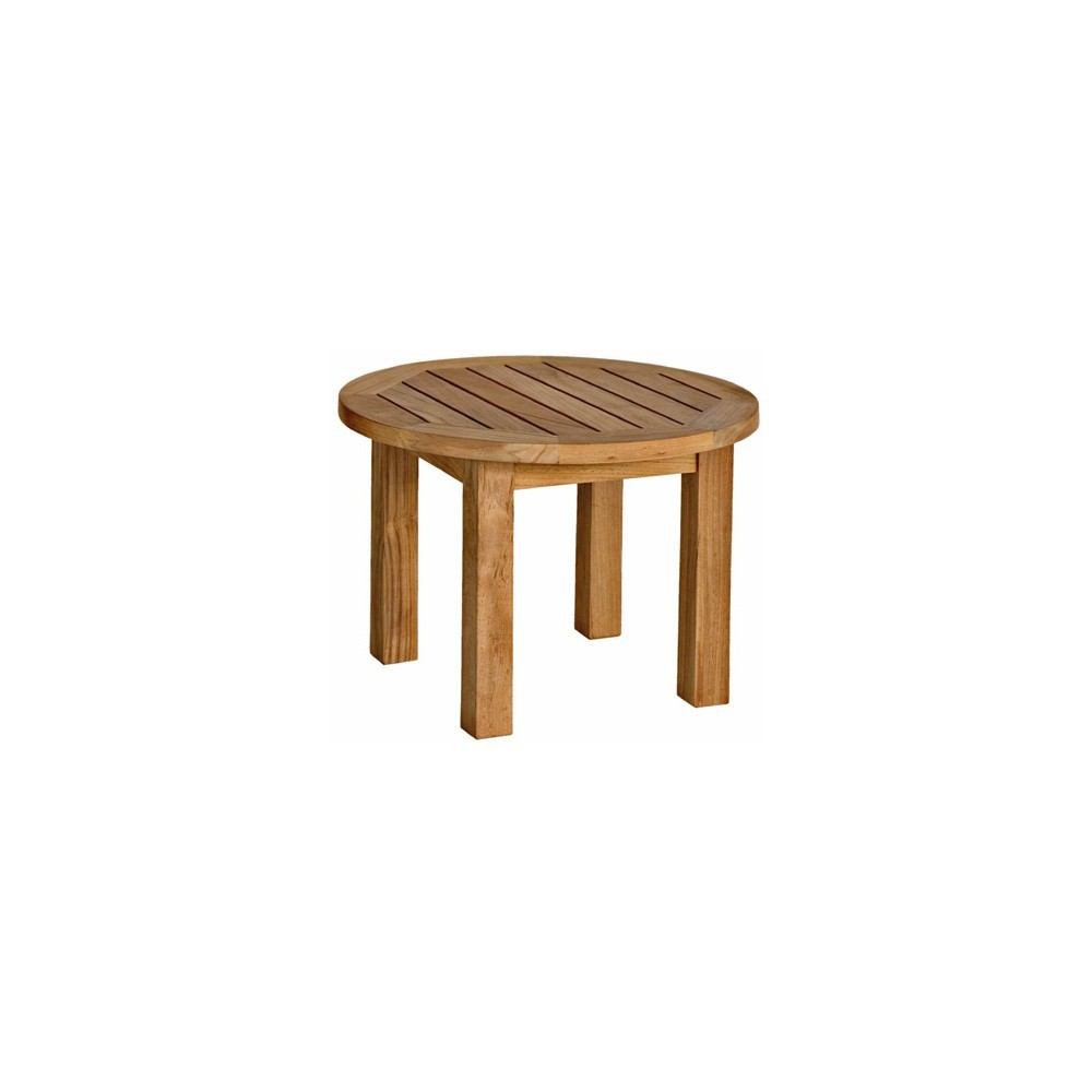 """Three Birds Casual Canterbury Low Round Side Table 20"""""""