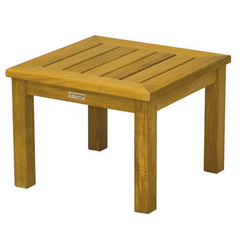 """Three Birds Casual Newport Low Square Side Table 20"""""""
