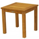"""Three Birds Casual Newport Tall Square Side Table 20"""""""