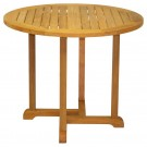 """Three Birds Casual Oxford Round Dining Table 42"""""""